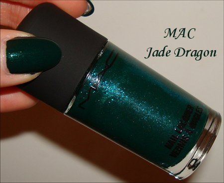 MAC Jade Dragon Polish Swatches