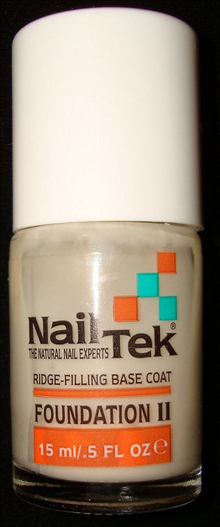 Nail Tek Foundation II Ridge-Filling Base Coat