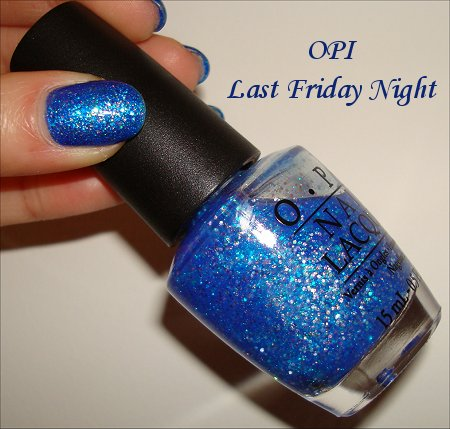 OPI Katy Perry Collection Last Friday Night Swatches