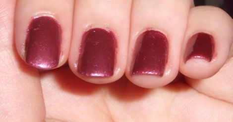 Image of elf Sunset Nail Polish Swatch