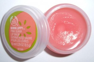 Image of The Body Shop Born Lippy Pink Guava Lip Balm