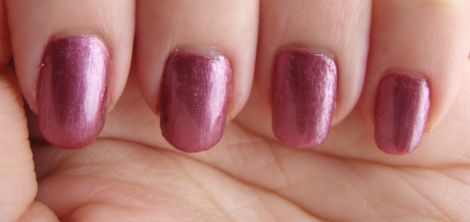 Image of e.l.f. Essentials Sunset Nail Polish Swatch