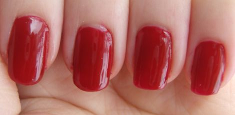 Image of elf Medium Red Nail Polish