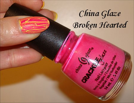 China Glaze Broken Hearted Crackle Polish