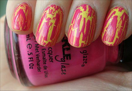 China Glaze Crackle Glaze Broken Hearted Swatch