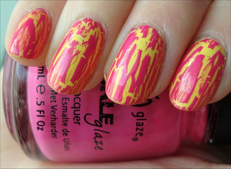 China Glaze Crackle Polishes Review Swatches