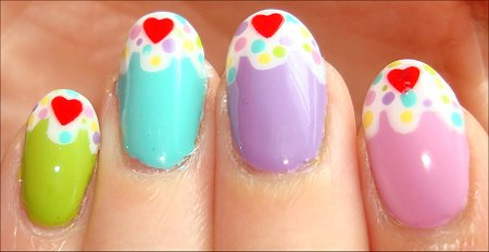 Cupcake Manicure Swatches