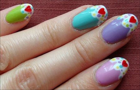 Cupcake Nails Daylight