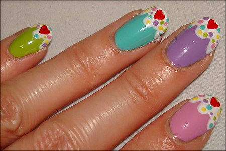 Cupcake Nails Pictures