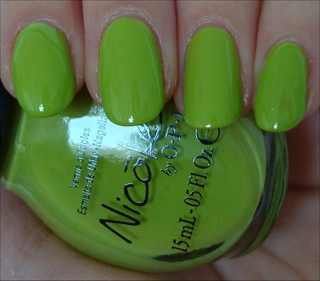 Daffy Dill Nicole by OPI Swatch