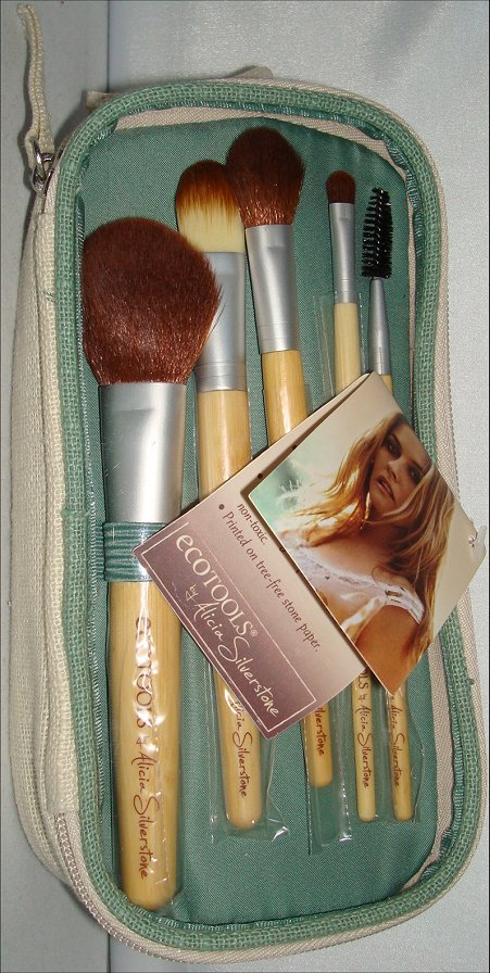 Eco Tools by Alicia Silverstone 6-Piece Bag & Brush Set