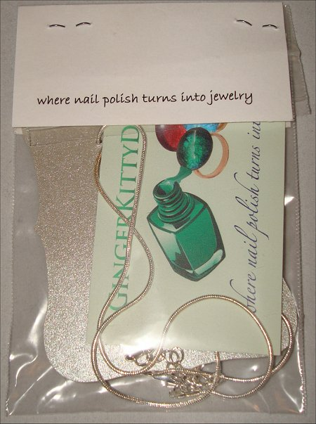 Ginger Kitty Designs Nail Polish Jewelry Review