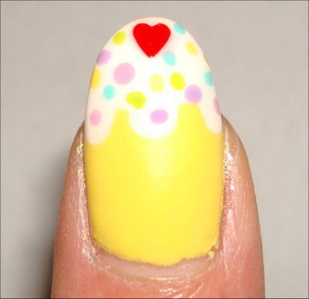 How to Cupcake Nail Tutorial