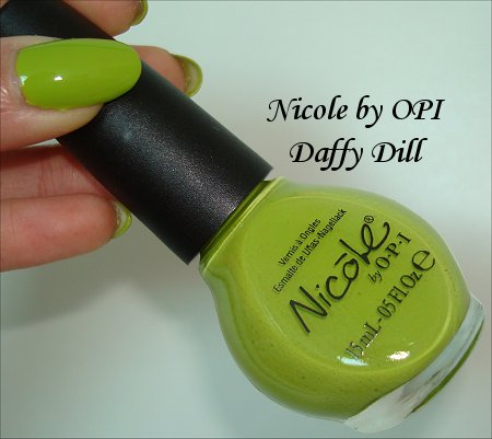 Nicole by OPI Daffy Dill Review & Swatch