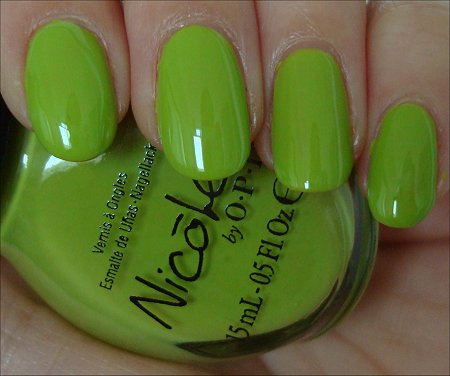 Nicole by OPI Daffy Dill Review & Swatches