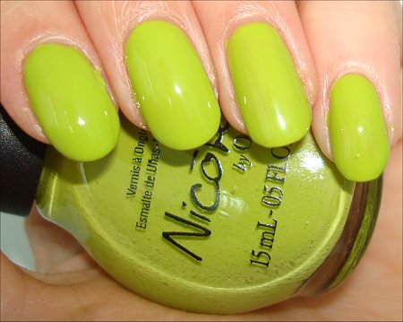 Nicole by OPI Daffy Dill Something About Spring Collection Swatch & Review