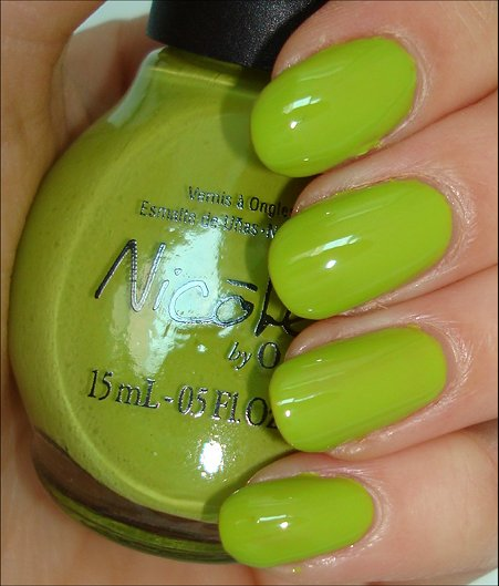 Nicole by OPI Daffy Dill Swatches