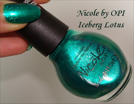 Nicole by OPI Iceberg Lotus Nail Polish