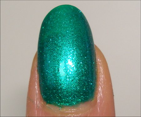 Nicole by OPI Iceberg Lotus Swatch & Review