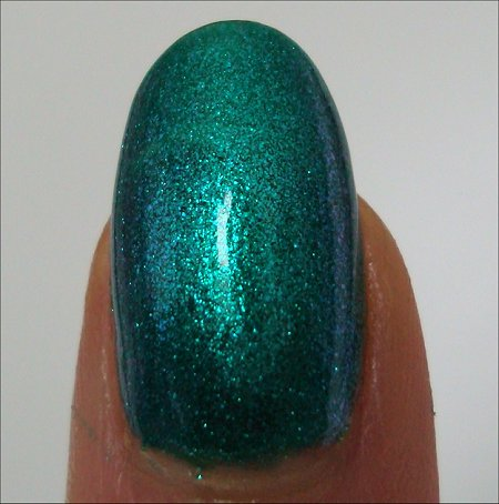 Nicole by OPI Iceberg Lotus Swatch