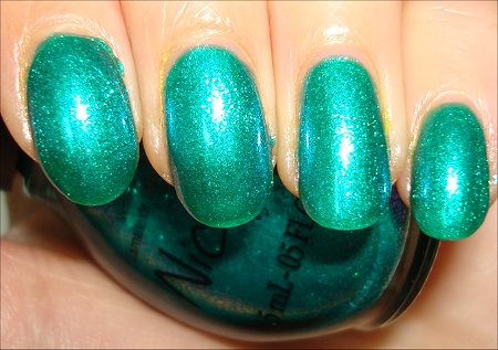 Nicole by OPI Iceberg Lotus Swatches Review