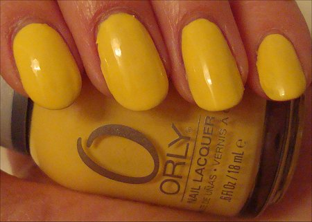 Orly Spark Swatch Review