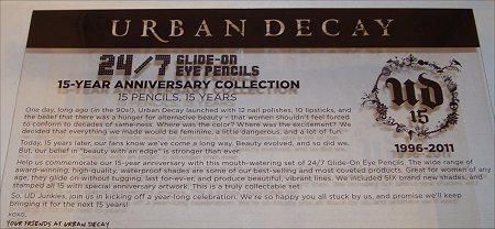 Urban Decay 24-7 Glide-on 15-Year Anniversary Set Review