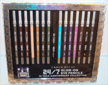 Urban Decay 24-7 Glide-on Eye Pencils 15-Year Anniversary Collection Review