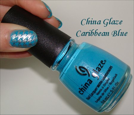 China Glaze Caribbean Blue Nail Polish