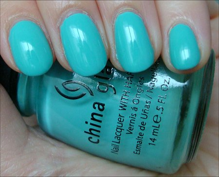 China Glaze For Audrey Review & Swatch