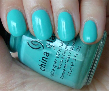 China Glaze For Audrey Review & Swatches
