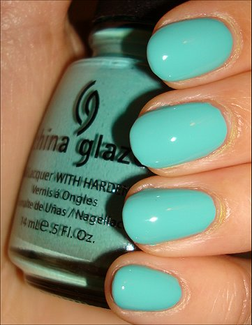 China Glaze For Audrey Swatches