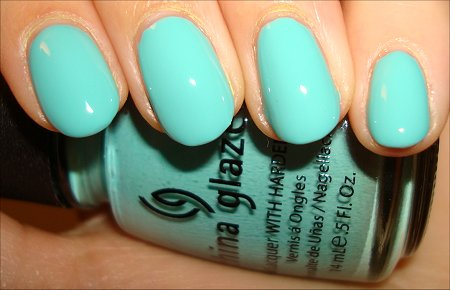 China Glaze For Audrey Swatches & Review