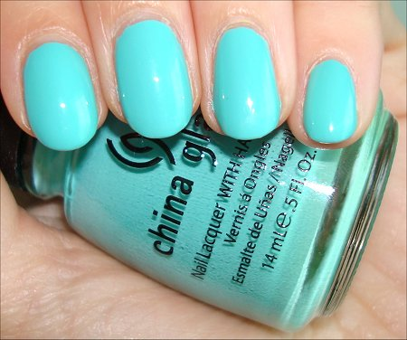 China Glaze Swatches For Audrey Review & Swatch