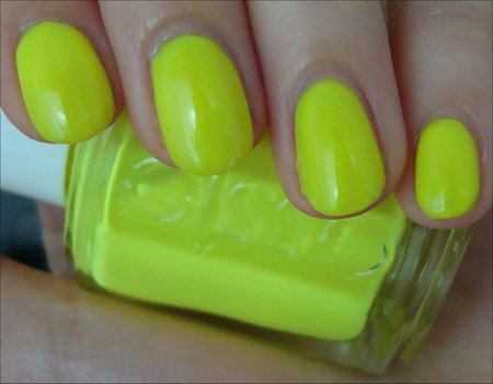 Essie Funky Limelight Nail Polish Swatch & Review