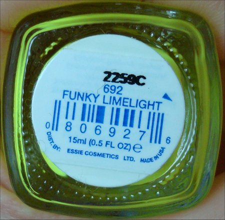 Essie Funky Limelight Neon Yellow Nail Polish