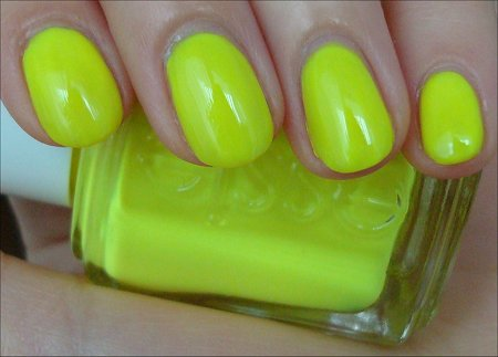 Essie Funky Limelight Swatch