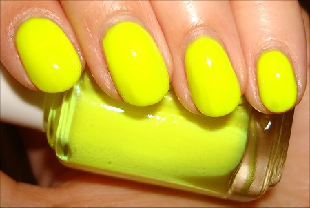 Essie Funky Limelight Swatches & Review