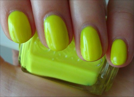 Funky Limelight Essie Swatches & Review