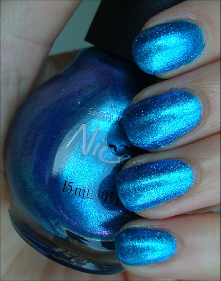 Nicole by OPI Something About Spring Collection Swatches You're S-Teal the One Review