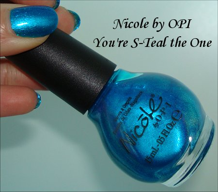 Nicole by OPI You're S-Teal the One Nail Polish