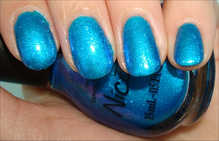 Nicole by OPI You're S-Teal the One Swatches