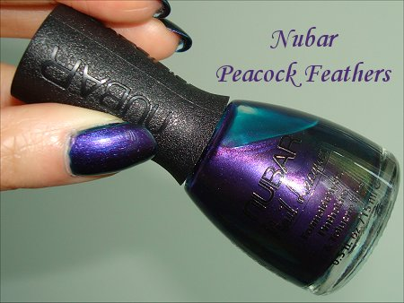 Nubar Peacock Feathers Nail Lacquer Review