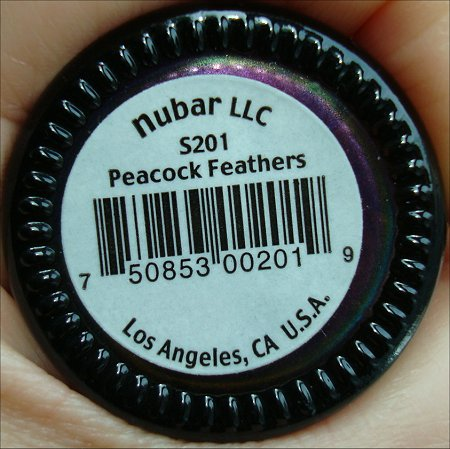 Nubar Swatches Peacock Feathers Swatches & Review