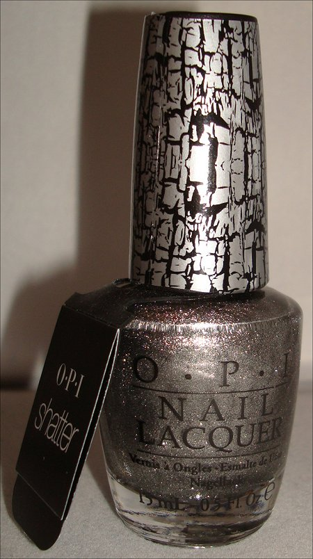 OPI Silver Shatter Review & Swatches | Swatch And Learn