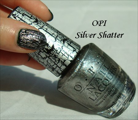 OPI Silver Shatter Review