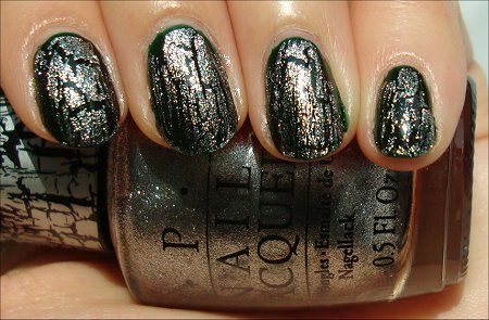 OPI Silver Shatter Swatch