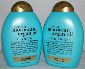 Organix Renewing Moroccan Argan Oil Shampoo & Conditioner Review & Pictures
