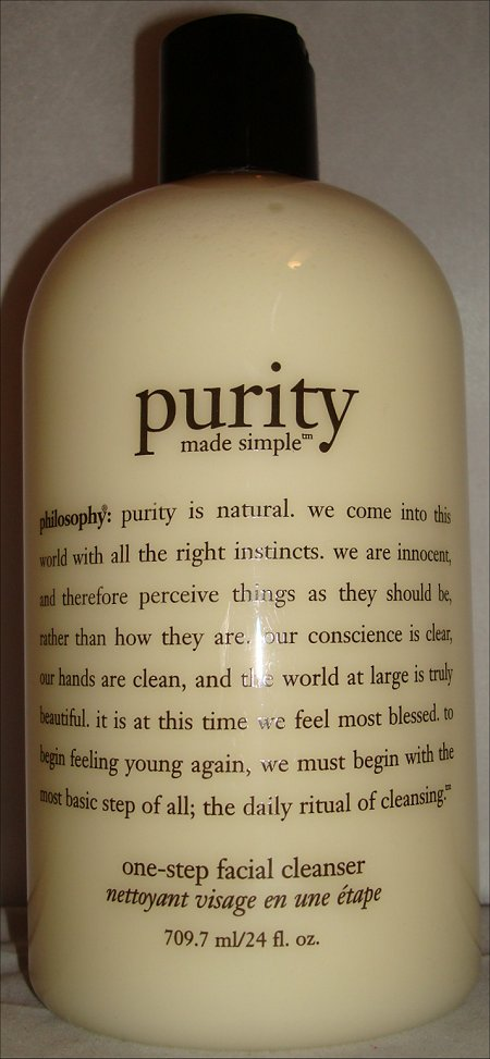 Philosophy Purity Made Simple One-Step Facial Cleanser Review