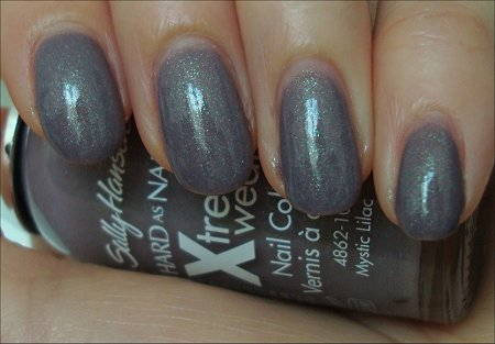 Sally Hansen Hard As Nails Xtreme Wear Mystic Lilac Swatch